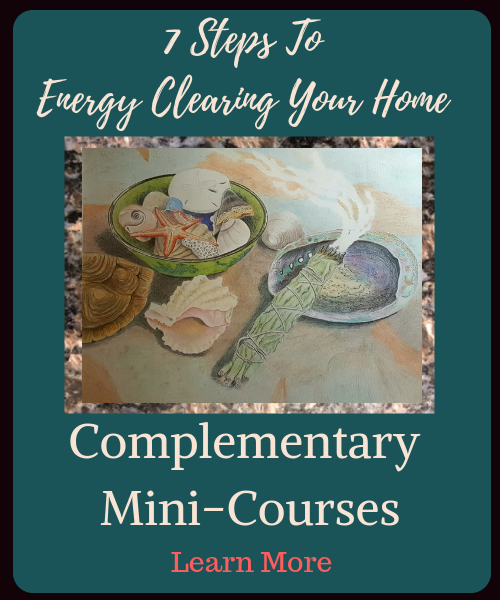 Take time to use Spiritual Spa Enhancements for Your Home. Our complementary mini course, 7 Steps to Energy Clearing Your Home guides you through the basic steps of creating your own ceremony to bring calmness into your home.