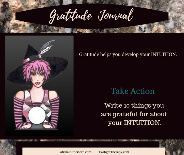 Gratitude Blog PatrinaRutherford.com  As you progress in your Gratitude Journaling practice you may notice that you become more confident in your daily decisions.